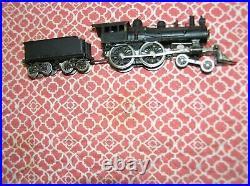 HO Scale Gem Brass Steam Locomotive 4-4-0 & Tender