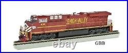 HO Scale LEHIGH VALLEY ES44AC DCC & SOUND Equipped Locomotive New 65403