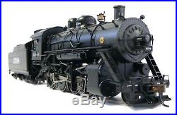 HO Scale Model Railroad Trains Engine Santa Fe 2-8-0 DCC Sound Steam Locomotive
