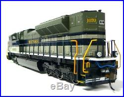 HO Scale Model Railroad Trains Wabash SD-70ACe DCC Sound Equipped Locomotive