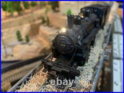 HO Scale Southern #7080 ALCO 2-6-0 Steam Locomotive DCC with Sound NEW Detailed