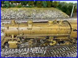 Hallmark Models BRASS HO Scale MKT 2-8-2 Steam Locomotive & Tender