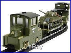 Hartland Locomotive Works 3rd Brigade Army Train Set 10201S G Scale