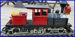 Hartland Locomotive Works Heisler steam engine, G scale