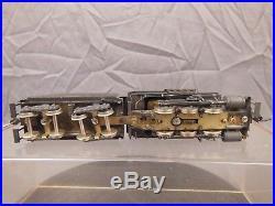 Ho Scale Brass Gem Reading B8a Camelback 0-6-0 Locomotive