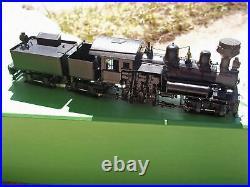 Ho Scale Brass Overland Models West Virginia Spruce 3 -Truck Shay Locomotive