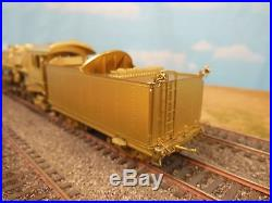 Ho Scale Overland Models Brass C&nw J-a 2-8-2 Locomotive
