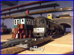 Ho Scale Southern Pacific Railroad Cab Forward Steam Locomotive