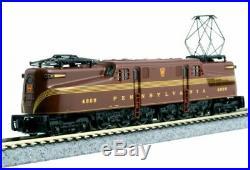 KATO 1372006 N SCALE GG1 Pennsylvania RR #4909 Tuscan Red 5-Stripe 137-2006