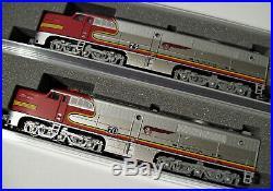 KATO 1764120 + 1764121 N SCALE 2 LOCO SET Alco PA/A Warbonnet AT&SF 74L/70L
