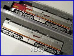 KATO 1764120 + 1764122 N SCALE Alco PA-1 PB-1 SET Warbonnet AT&SF 70L/70A