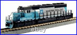 KATO 1764959 N SCALE SD40-2 Mid Production Norfolk Southern Maersk 3329 176-4959