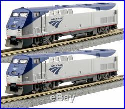 KATO 2 LOCO SET N Scale 1766030 + 1766031 P42 Amtrak Ph V #47/#160 DCC Ready