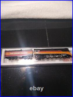 KATO N Scale GS-4 Southern Pacific Daylight Steam Locomotive(4449) DCC installed