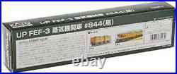 KATO N scale UP FEF-3 # 844 12605-2 model railroad steam locomotive Black