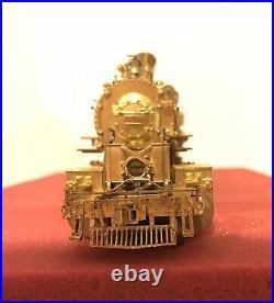 KEY HO SCALE BRASS D&RGW Classic 3500 Class 2-8-8-2 L-95 Locomotive & Tender OB