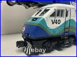 K-Line K2436-5006 VRE F59PHi Diesel Locomotive Bombardier Coach O Scale AS IS
