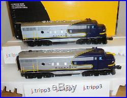 K-line K-25304 Santa Fe Aa F-7 Blue Bonnet Diesel Engines O Scale Train Lionel