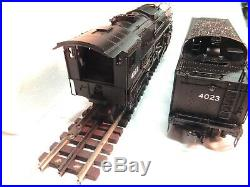 K-line O Scale Boston & Maine Berkshire Steam Engine & Tender-TMCC & Railsounds