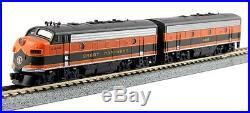 Kato 1060421 N Scale F7A/B Locomotive Set Great Northern #444C/444D
