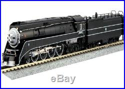 Kato 126-0312 N Scale 4-8-4 GS-4 BNSF Excursion Black Locomotive #4449