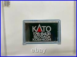 Kato 176-8431 N-Scale SD70ACe KCS #4034 Locomotive