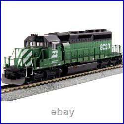 Kato 376605 DCC EMD SD40-2 Mid Locomotive with DCC Burlington Northern HO Scale