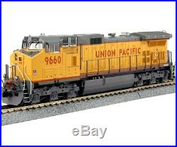 Kato 37-6633 HO Scale GE C44-9W Union Pacific #9660 Locomotive RTR