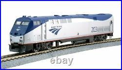 Kato HO Scale New 2021 Amtrak Phase V GE P42 Genesis #203 DC 37-6111
