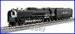 Kato N Scale 126-0401 4-8-4 FEF-3 Union Pacific #844 Black Paint Version New