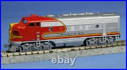 Kato N Scale F7A F7B 2 Loco Set ATSF Santa Fe DC DCC Ready 1762121 1762211