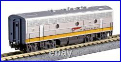 Kato N Scale F7A F7B 2 Loco Set ATSF Santa Fe DC DCC Ready 1762140 1762215