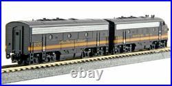 Kato N Scale F7A F7B Locomotive Set NP #6012D/6012C DC DCC Ready 1060423
