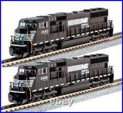 Kato N Scale SD70M 2 Locomotive Set NS #2583 #2588 DC DCC Ready 1767605 1767606