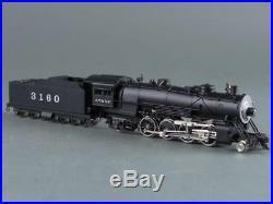 Key Imports N-Scale Brass ATSF Steam #3160 Class 2-8-2, NIB, VTG, RARE