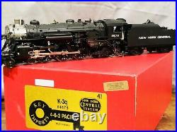 Key Imports O Scale 2R Brass NYC NEW YORK CENTRAL 4-6-2 Class K-3Q PACIFIC #4675