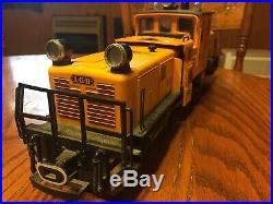 LEHMANN LGB 2067 G Scale Model Train Track Cleaning Diesel Locomotive Engine