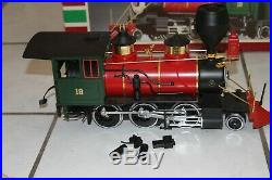 LGB 2018D 2-6-0 DSP & PRR LOCOMOTIVE & TENDER G-SCALE Train