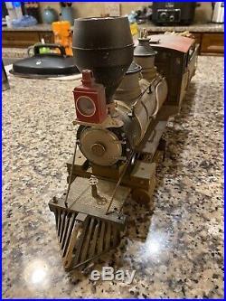 LGB 2019S (20192) 2-6-0 DRGW Steam Mogul Locomotive & Tender G-Scale used