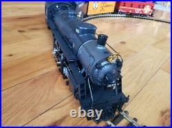 LGB 20872 Santa Fe Mikado Steam Locomotive with Coal Car, G Scale