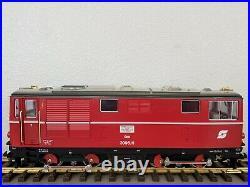 LGB 2095 Austrian Railways OBB Diesel Locomotive with Lights Vintage G Scale