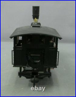 LGB 23192 G Scale C&S Steam Locomotive and Tender with DCC & Sound EX/Box
