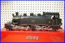 LGB 23851 BEG II Hanomag Black Mallet 0-6-6-0 Steam Locomotive G-Scale