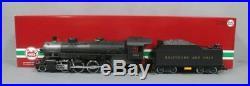 LGB 24872 G Scale 2-8-2 Baltimore & Ohio Steam Locomotive & Tender withSound EX