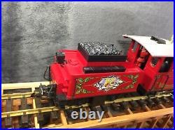 LGB 25171 Christmas Locomotive and Power Tender Santa Original Box G Scale