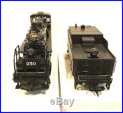 LGB G SCALE 20892 SUMPTER VALLEY MALLET STEAM LOCOMOTIVE 250 & TENDER With SOUND