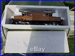 LGB Swiss RhB Crocodile 2040 Electric G Scale Locomotive No. 413 Great Condition