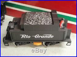 LGB TRAIN 27192 D&RGW STEAM MOGUL #573 withSOUND & SMOKE G SCALE LOCOMOTIVE G