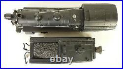 LIONEL #227 HIGH GRADE SEMI-SCALE 0-6-0 SWITCHER LOCO With2227B TENDER-EX+