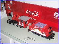 Lgb 25194 Coca Cola Mogul Steam Locomotive With Sound The Big Train G Scale